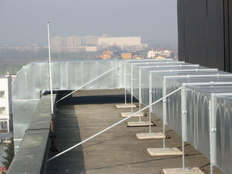 Impianto di rinnovo aria c/o Palazzina Uffici