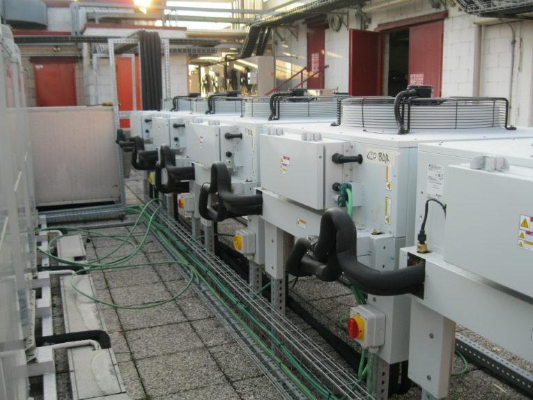 Impianto ad espansione diretta a servizio CED